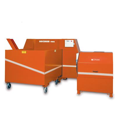 Compacteur automatisé pour très grande quantité de déchets