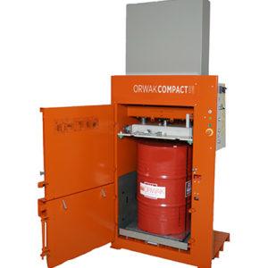 Tecnor | Compact 3210 combi: Une presse à balles et à fûts combinée
