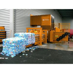 Tecnor | Presse à balles horizontale 350 PET idéale pour PET, carton...