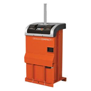 Tecnor | Presse Compact 3110, compacteur carton peu encombrant