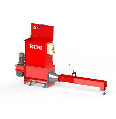 Compacteur frigolite Runi SK120 pour recyclage