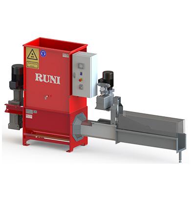 Compacteur frigolite Runi SK200 pour recyclage