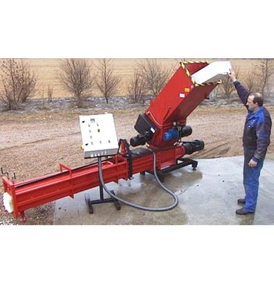 Compacteur à vis Runi SK240 pour grandes quantités de matière